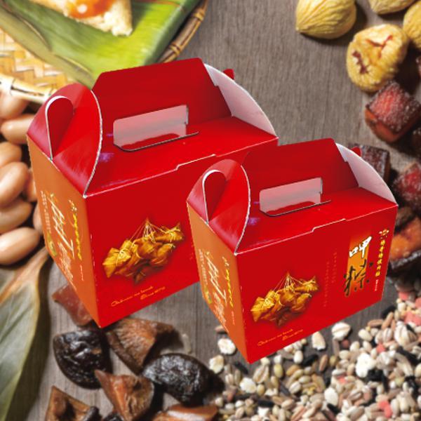 特製肉粽-傳統(禮盒組)10粒/盒,共6盒