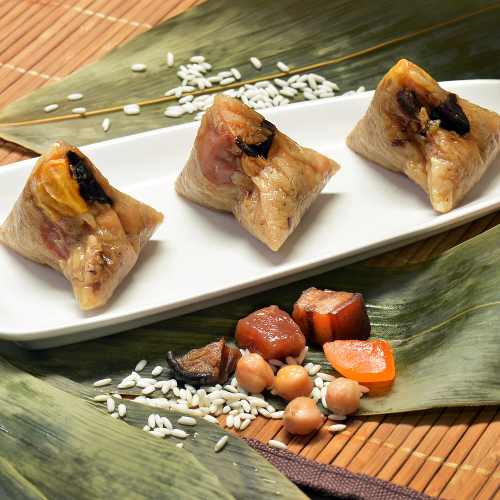 小雪蓮肉粽-養生(50粒/包)