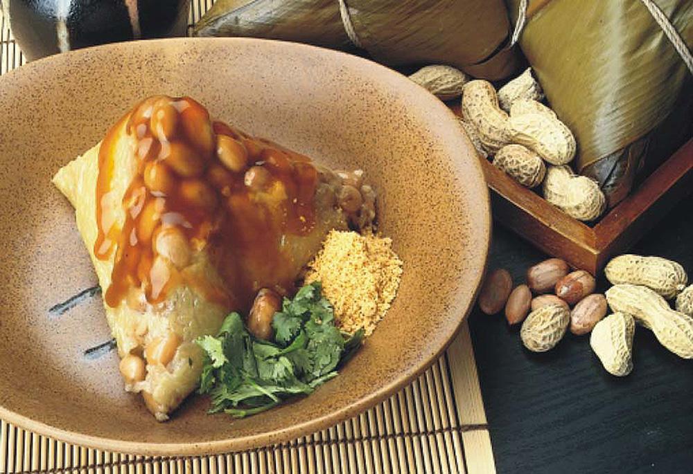 月桃葉菜粽