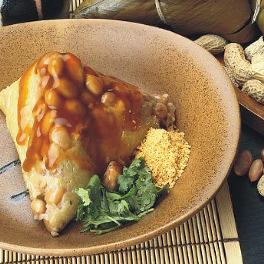 月桃葉菜粽-素食(20粒/包)