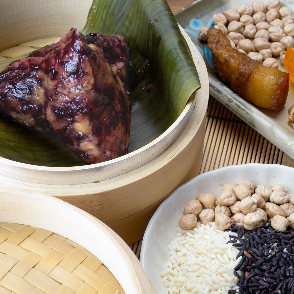 紫米肉粽-養生(20粒/包)